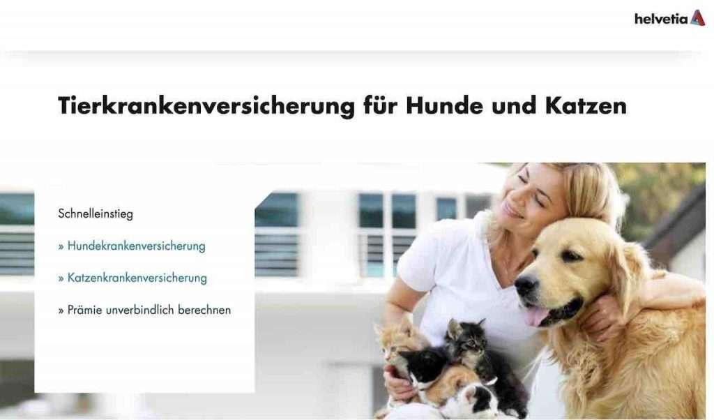 Helvetia Tierkrankenversicherung